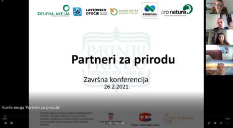 """Održana završna konferencija projekta """"Partneri za prirodu"""""""