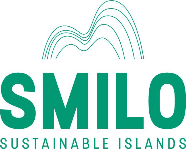 """Logo SMILO, """"Organizacija malih otoka"""""""