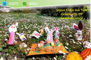 Sretan Uskrs žele Vam djelatnici Parka prirode Lastovsko otočje